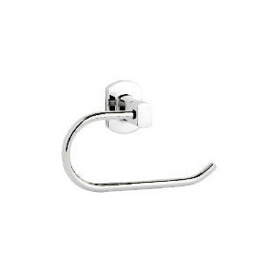 Photo of Chelsea Wall Mounted Toilet Roll Holder, Stainless Steel Oblong Bathroom Fitting