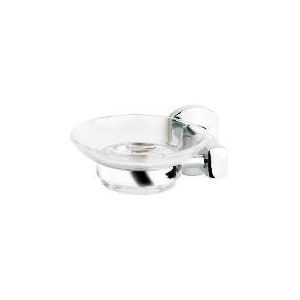 Photo of Chelsea Wall Mounted Soap Dish, Stainless Steel Oblong Bathroom Fitting