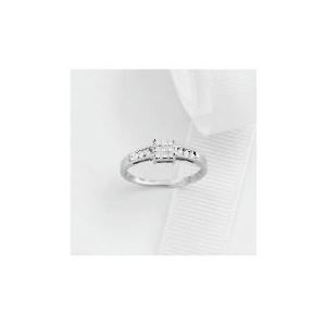 Photo of 9CT White Gold 1/4 Carat Diamond Ring Jewellery Woman
