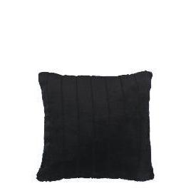 ribbed faux fur cushion black Reviews