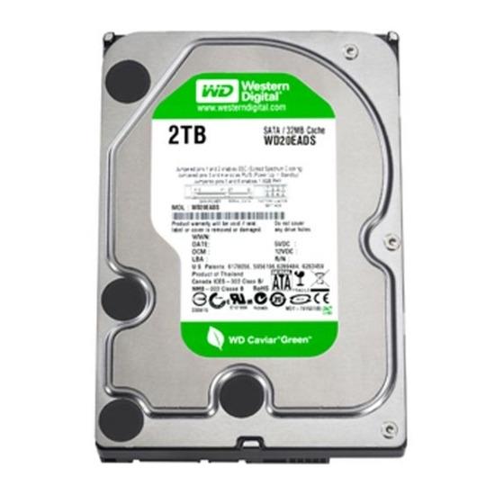 """Western Digital Caviar Green WDBAAY0020HNC-ERSN 2 TB 3.5"""" Internal Har"""