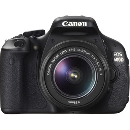 Canon EOS 600D with 18-55mm and 55-250mm lens kit Reviews