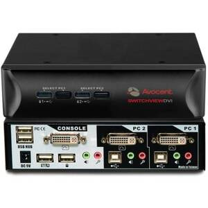 Photo of Avocent 2SVDVI10 201 Network Switch