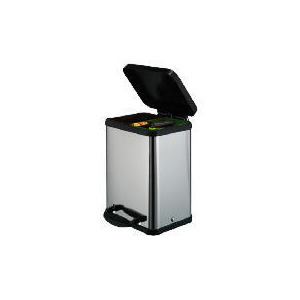 Photo of Stainless Steel Duo Recycle Bin Bin