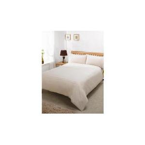 Photo of Silent Night Duvet Set King Track Biscuit Bed Linen