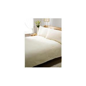 Photo of Silent Night Duvet Set Double Flower Cream Bed Linen
