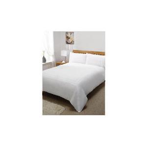 Photo of Silent Night Duvet Set King Track White Bed Linen