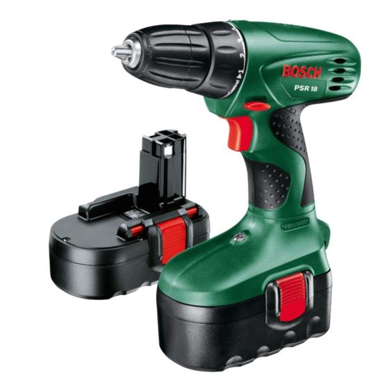 Bosch PSR18 Cordless Drill Driver