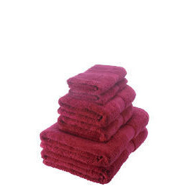 Egyptian Cotton towel bale, dark red Reviews