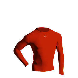 Long Sleeve Bodyshirt Mock Neck RED adult small Reviews