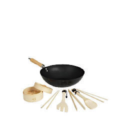 "Swan 12"" Non Stick Wok and Stirfry Set Reviews"