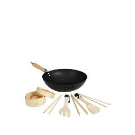 """Swan 12"""" Non Stick Wok and Stirfry Set Reviews"""