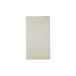 Photo of Tesco Shaggy Rug  Cream, 67X120CM Rug