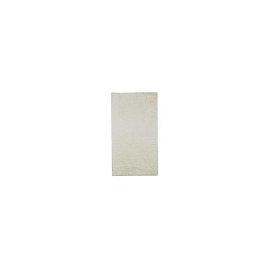 Tesco shaggy rug  Cream, 67x120cm