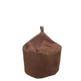 Tesco Faux Suede Bean Bag, Chocolate Reviews