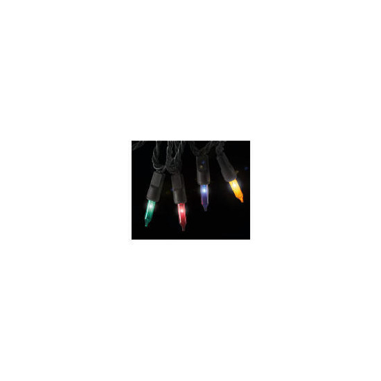 Tesco 100 Low Voltage Multi Function Coloured Lights (Outdoor)
