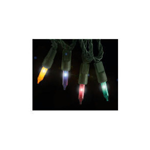 Photo of Tesco 200 Low Voltage Multi Function Coloured Lights (Outdoor) Christmas