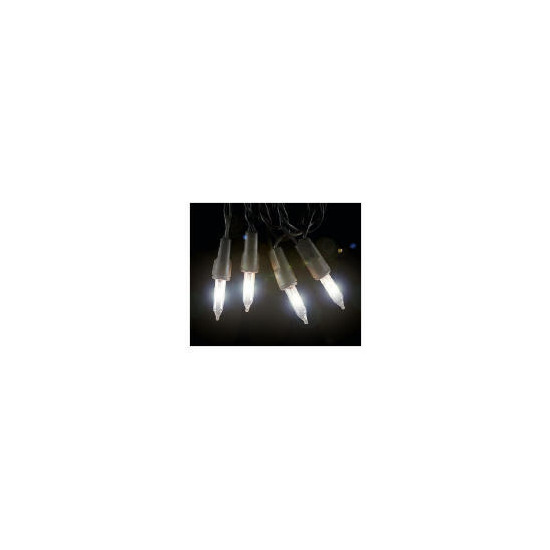 Tesco 100 Low Voltage Multi Function Clear Lights (Outdoor)