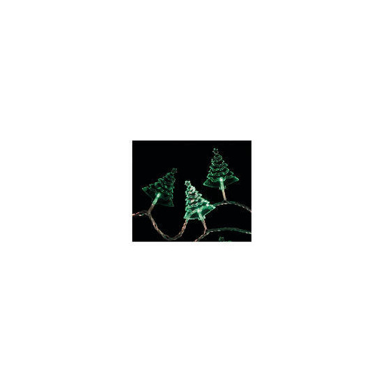 Tesco 30 Low Voltage Green LED Acrylic Tree Lights (Indoor)