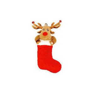 Photo of Tesco Animated Reindeer Stocking Christmas