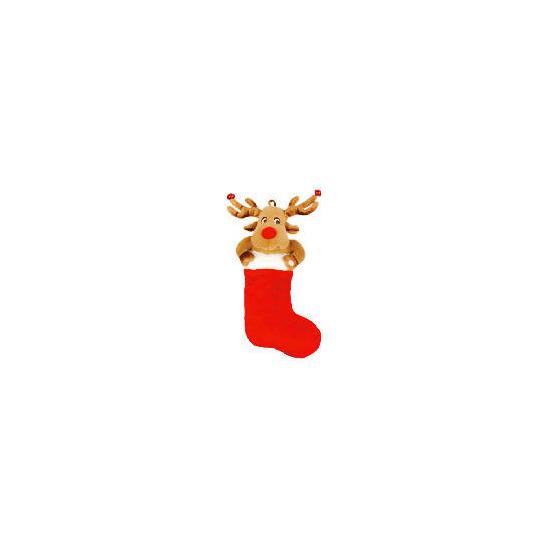 Tesco Animated Reindeer Stocking