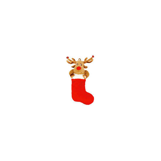 Tesco Animated Reindeer Stocking