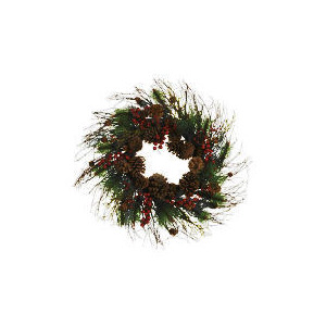 Photo of Finest Pine Cone Wreath Christmas