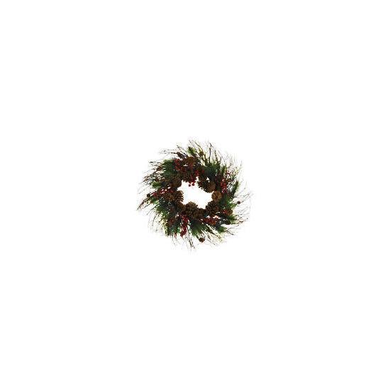 Finest Pine Cone Wreath