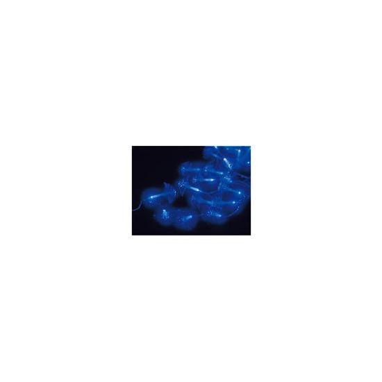 Tesco 40 Blue Fibre Optic LED Firework Lights (Indoor)