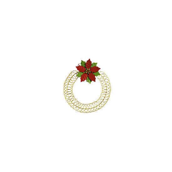 Tesco Poinsettia Card Holder