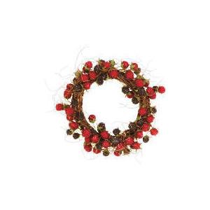 """Photo of Tesco 8"""" Raspberry Twig Wreath Christmas"""