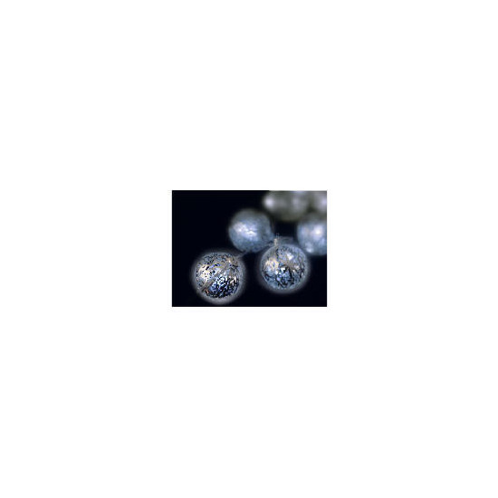 Tesco 16 Low Voltage White LED Silver Ball Lights (Indoor)