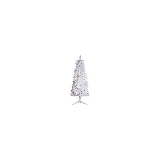 Tesco 6Ft Slim White Tree