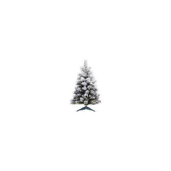 Tesco 2Ft Frosty Mountain Tree