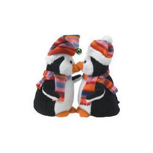 Photo of Tesco Kissing Penguins Christmas