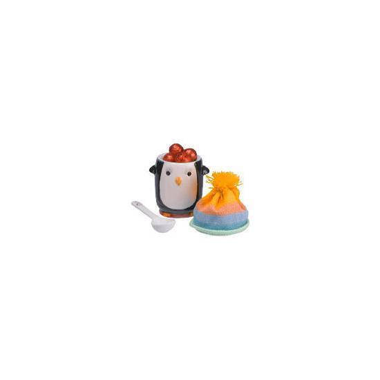 Cool wonderland penguin egg cup