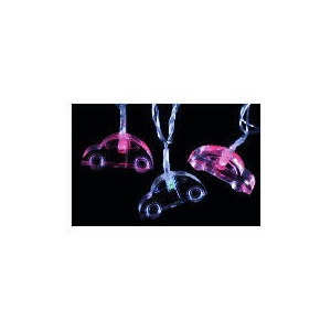 Photo of Tesco 30 Low Voltage LED Acrylic Car Lights (Indoor) Christmas