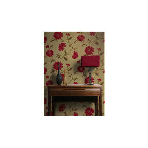 Photo of Arthouse Wallpaper Chelsea Red Home Miscellaneou