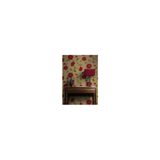 Arthouse Wallpaper Chelsea Red