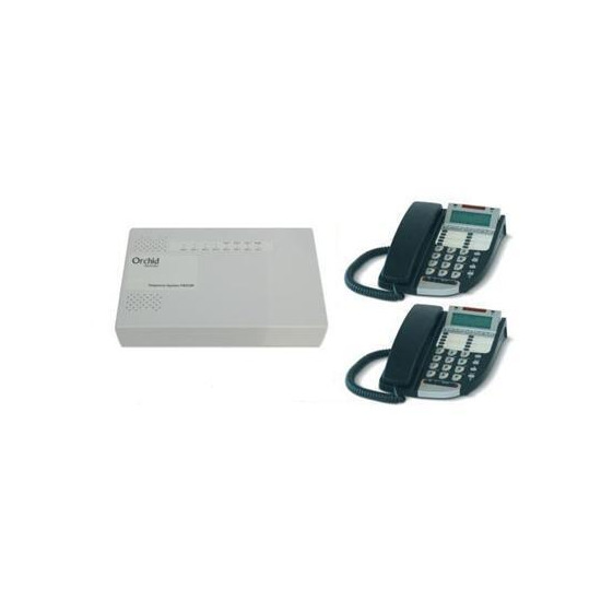 Orchid Analogue 3 line PABX 308 DX800 Pack