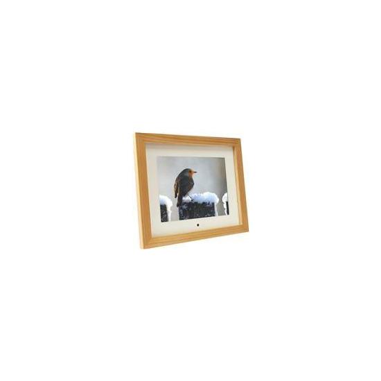 "8"" Digital Photo Frame - Light Wood"