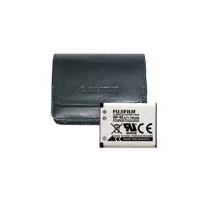 Photo of Case and Battery Kit For Fujifilm J Series Digital Camera Accessory