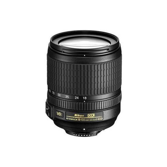 Nikon AF-S DX VR NIKKOR 18-105mm f/3.5-5.6G ED Lens