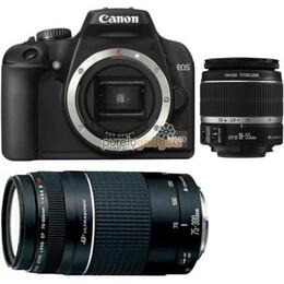 Canon EOS 1000D with 18-55mm IS & Tamron 70-300mm f4.5-5.6 lenses Reviews