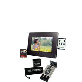 "7"" LCD Photo Frame + Klearpix Bundle Reviews"