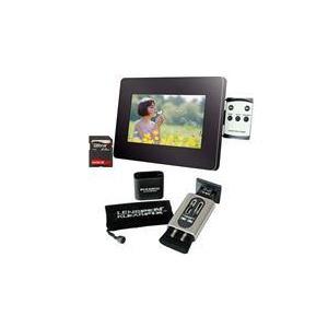 "Photo of 7"" LCD Photo Frame + Klearpix Bundle Digital Photo Frame"