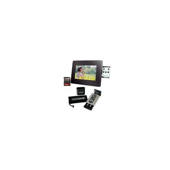 """7"""" LCD Photo Frame + Klearpix Bundle"""