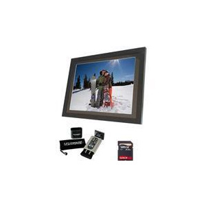 "Photo of 15"" LCD Photo Frame + Klearpix Bundle Digital Photo Frame"