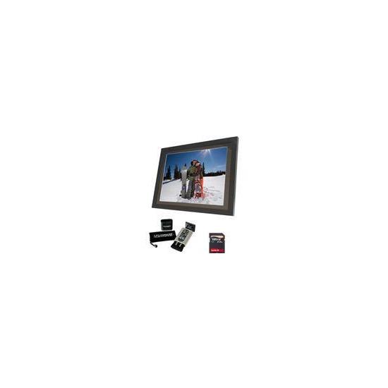 """15"""" LCD Photo Frame + Klearpix Bundle"""