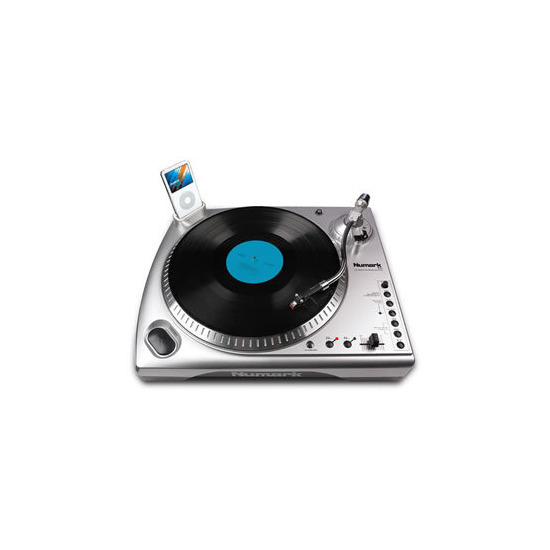 ION LP DOCK USB TURNTABLE DIRECT TO IPOD RECORDING